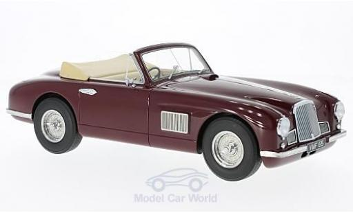 Aston Martin DB2 1/18 BoS Models DHC rouge RHD 1950 miniature