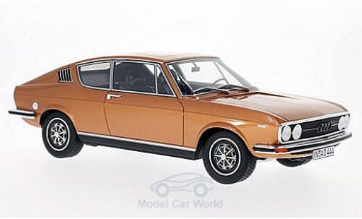 Audi 100 1/18 BoS Models Coupe S kupfer 1973 miniature