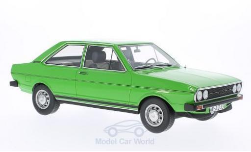 Audi 80 1/18 BoS Models GT verte 1973 ohne Vitrine miniature