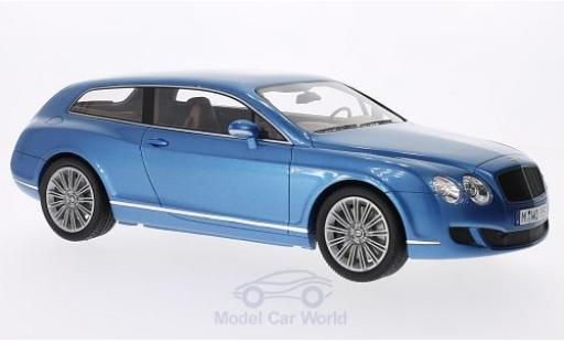 Bentley Continental T 1/18 BoS Models Flying Star by Touring metallic-blue 2010 diecast
