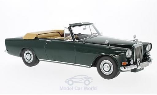 Bentley S3 1/18 BoS Models SIII Park Ward DHC verte RHD 1963 miniature