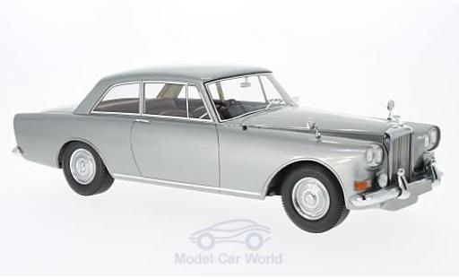 Bentley S3 1/18 BoS Models SIII Park Ward FHC metallise grise RHD 1963 miniature