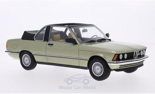 Bmw 323 1/18 BoS Models BMW i (E21) Baur metallic-hellgrün 1979 miniature