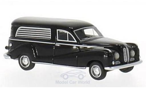 Bmw 502 1/87 BoS Models noire 1952 Bestattungswagen miniature