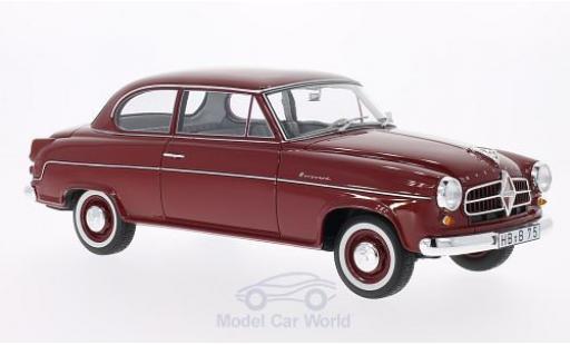Borgward Isabella 1/18 BoS Models Limousine dunkelrouge 1955 miniature