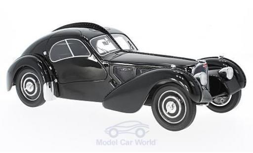 Bugatti 57 1/18 BoS Models T SC Atlantic noire RHD 1938 miniature