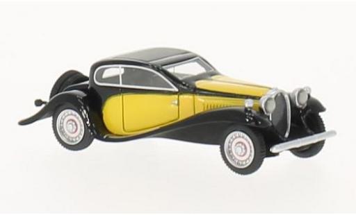 Bugatti 50 1/87 BoS Models Typ T jaune/noire 1932 miniature