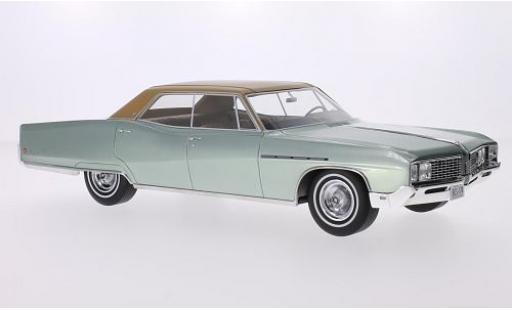 Buick Electra 1/18 BoS Models 225 4-door Hardtop metallise verte/marron 1968 miniature