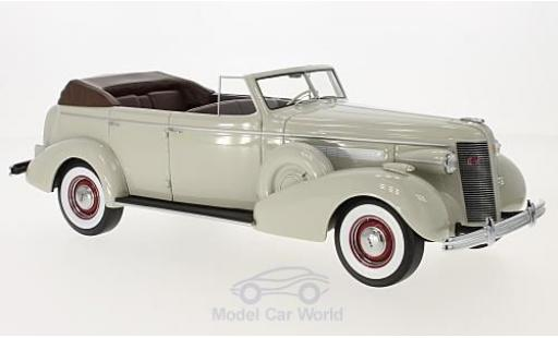 Buick Roadmaster 1/18 BoS Models 80-C Four-Door Phaeton grise 1937 miniature