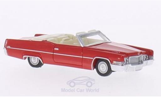 Cadillac Deville 1/87 BoS Models DeVille Convertible rouge 1970 miniature