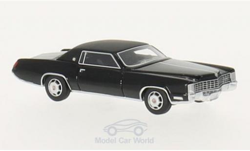Cadillac Eldorado 1/87 BoS Models noire/matt-noire 1968 miniature
