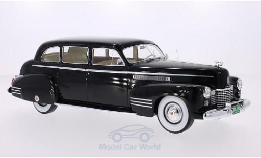 Cadillac Fleetwood 1/18 BoS Models 75 Touring Sedan noire 1941 miniature