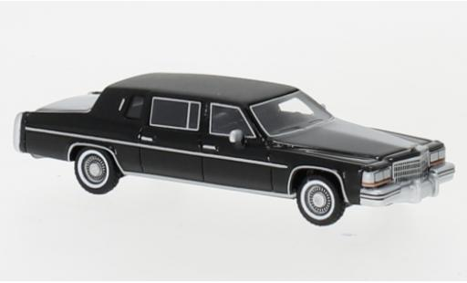 Cadillac Fleetwood 1/87 BoS Models Formal Limousine noire 1980 miniature