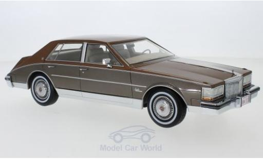 Cadillac Seville 1/18 BoS Models kupfer/metallic brown 1980 diecast