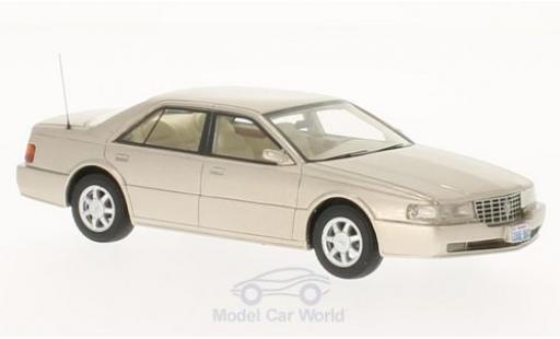 Cadillac Seville 1/43 BoS Models STS metallise beige 1992 miniature