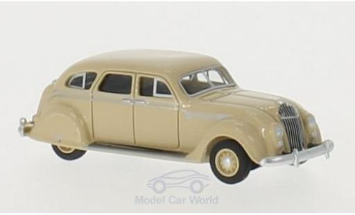 Chrysler Airflow 1/87 BoS Models beige 1936 diecast model cars