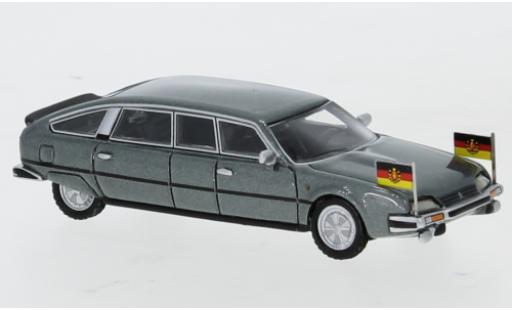 Citroen CX 1/87 BoS Models Nilsson metallise grey 1985 DDR-Staatslimousine avec Standarten diecast model cars