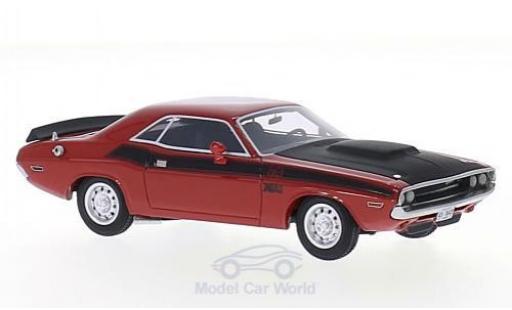 Dodge Challenger 1970 1/43 BoS Models T/A rouge/noire miniature
