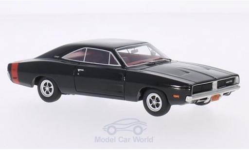 Dodge Charger 1969 1/43 BoS Models R/T black 1969 diecast