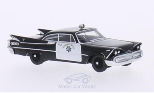 Dodge Custom Royal Lancer 1/87 BoS Models Coupe California Highway Patrol 1959 diecast model cars