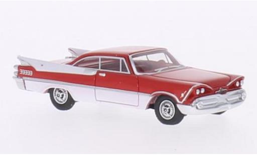 Dodge Custom Royal Lancer 1/87 BoS Models red/white 1959 2-Door Hardtop Coupe diecast model cars