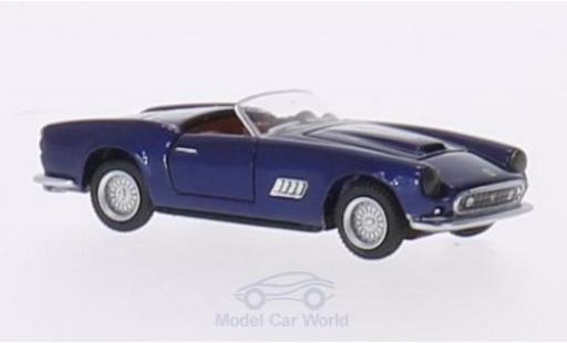 Ferrari 250 Spyder 1/87 BoS Models GT LWB California Spyder dunkelbleue 1959 miniature