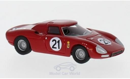 Ferrari 250 1/87 BoS Models LM No.21 24h Le Mans 1965 M.Gregory/J.Rindt diecast model cars