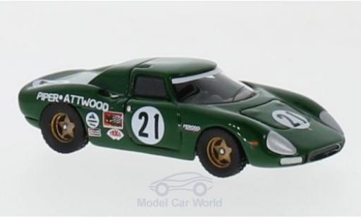 Ferrari 250 1/87 BoS Models LM No.21 24h Le Mans 1968 D.Piper/R.Attwood diecast model cars