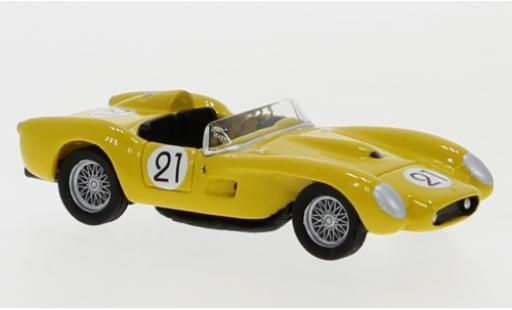 Ferrari 250 1/87 BoS Models TR No.21 24h Le Mans 1958 A.De Changy/J.Beurlys diecast model cars