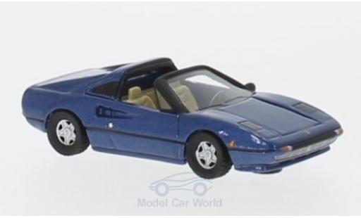 Ferrari 308 GTS 1/87 BoS Models GTS metallic-bleue 1977 miniature
