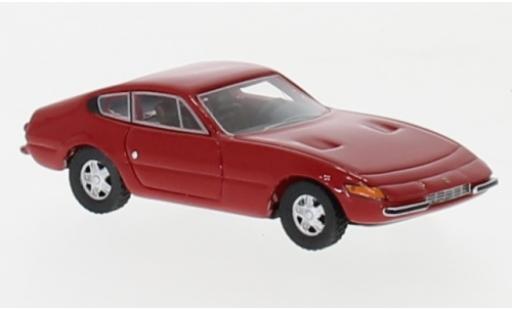Ferrari 365 1/87 BoS Models GTB/4 rouge 1972 miniature