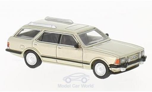 Ford Granada 1/87 BoS Models MK II Turnier metallise beige 1982 miniature