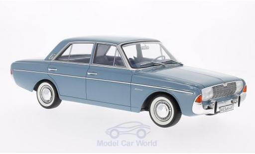 Ford Taunus 1965 1/18 BoS Models 20M (P5) blue diecast model cars