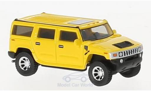 Hummer H2 1/87 BoS Models jaune 2003 miniature