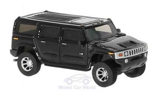 Hummer H2 1/87 BoS Models noire 2003 miniature