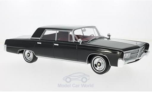 Imperial Crown 1/18 BoS Models 4-Door noire 1965 ohne Vitrine miniature