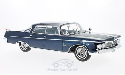 Imperial Crown Southampton 1/18 BoS Models 4-Door metallise bleue 1962 miniature