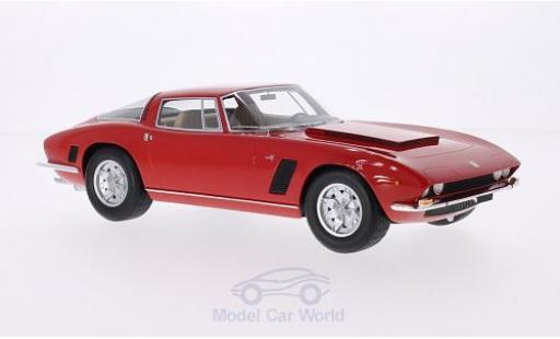 ISO Grifo 1/18 BoS Models 7 Litri (IR8) rouge 1972 miniature