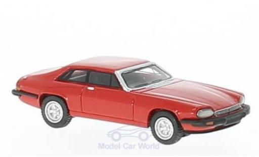 Jaguar XJ 1975 1/87 BoS Models -S rouge RHD miniature