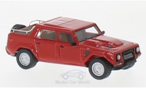 Lamborghini LM 1/87 BoS Models 002 rouge 1986 miniature