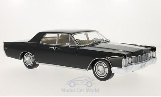 Lincoln Continental 1/18 BoS Models noire 1968 ohne Vitrine miniature