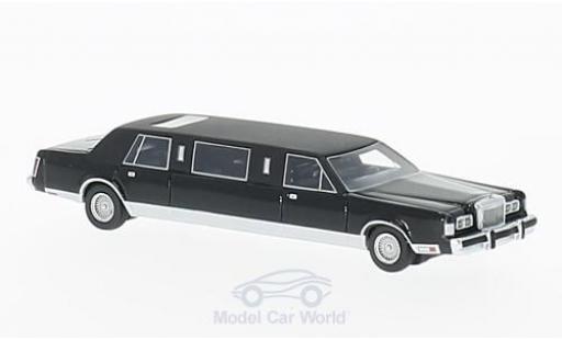 Lincoln Town Car 1/87 BoS Models Stretchlimousine noire 1985 miniature