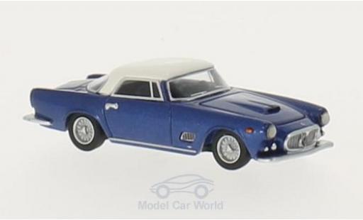 Maserati 3500 GT 1/87 BoS Models metallic-bleue/blanche 1957 miniature