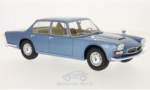 Maserati Quattroporte 1/18 BoS Models I métallisé bleue 1966 miniature