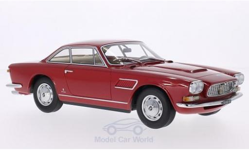 Maserati Sebring 1/18 BoS Models II metallise red 1966 diecast model cars