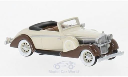 Maybach SW 1/87 BoS Models 38 Cabriolet Spohn beige/marron 1937 miniature