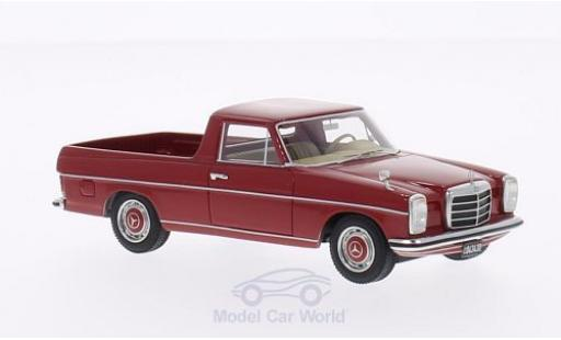 Mercedes 220 1/43 BoS Models D Binz (W115) Pick Up rosso modellino in miniatura