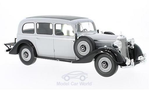 Mercedes 260 1/18 BoS Models D Pullman grise/noire 1937 ohne Vitrine miniature