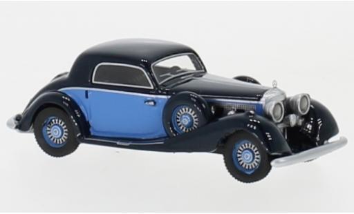 Mercedes 540 1/87 BoS Models K Sportcoupé bleue/bleue 1936 miniature
