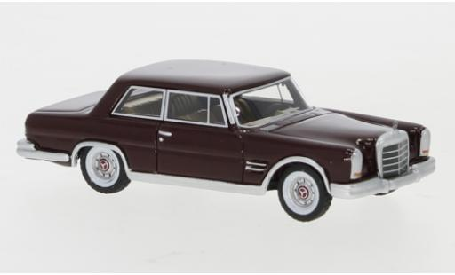 Mercedes 600 1/87 BoS Models (W100) Nallinger Coupé rouge 1963 miniature